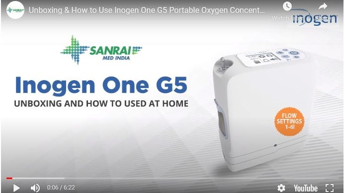 Unboxing & How to Use Inogen One G5 Portable Oxygen Concentrator | Sanrai Shop